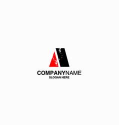 letter a logo icon design template stock vector image