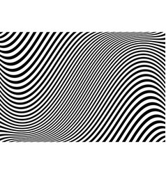 wavy lines texture vector image