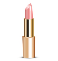 pink lipstick vector image vector image
