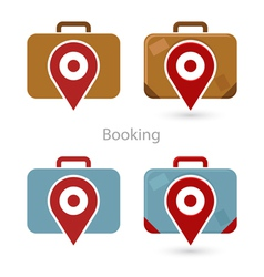 Booking vector image vector image