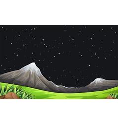 A night scene vector