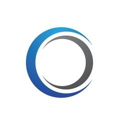 C Letter Logo Template vector image