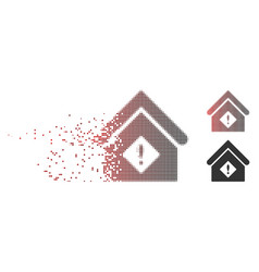 Disintegrating pixel halftone problem building vector