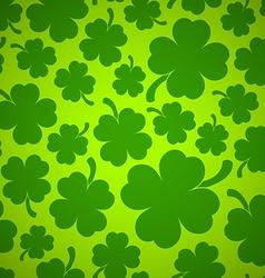 Four-leaf clover background vector