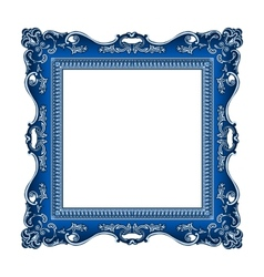 frame old ornament vector image