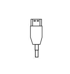 hdm wire icon vector image