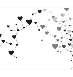 Love connection vector