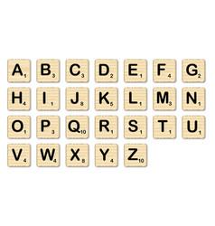 Scrabble vector
