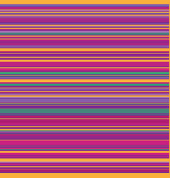 seamless bright colorful horizontal lines vector image
