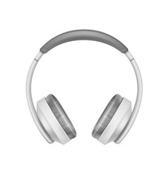 wireless headphones vector image