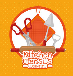 cooking time concept vector image vector image