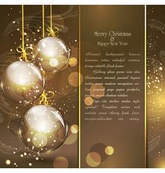 Holiday gold vector