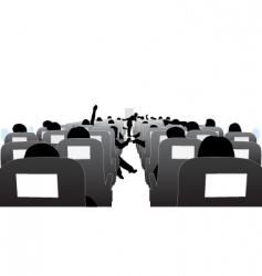 passengers vector image
