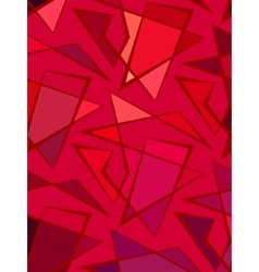 red background of polyline vector image