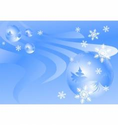 winter backgrounds vector image vector image