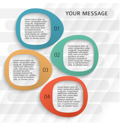 Business classified flyer template page background vector
