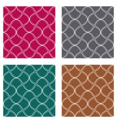 curves pattern vector image vector image