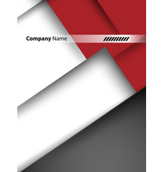 Corporate template vector