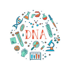 Genetic engineering and medical research vector