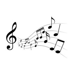 melody vector image