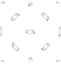 packed sleep icon outline style vector image