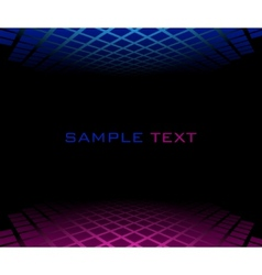 red blue halftone background vector image