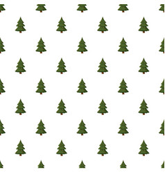 Spruce with cones pattern vector