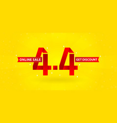 33 sale44 online sale shopping day festival vector