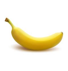 Banana on a white background eps 10 vector