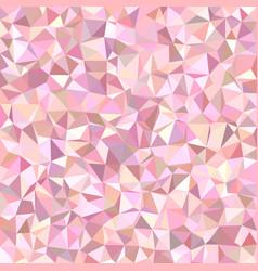 Geometric irregular triangle tiled mosaic vector