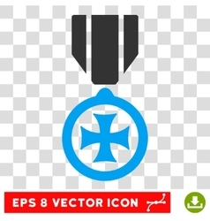 Maltese Cross Eps Icon vector
