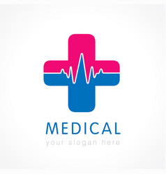 Medical care logo concept vector