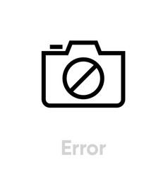 photo camera icon technology icon vector image