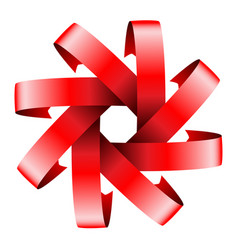 red icon design vector image
