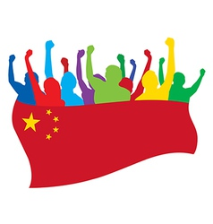 China fans vector image vector image