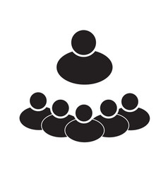 groups of people on white background groups of vector image