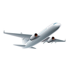 object airplane vector image