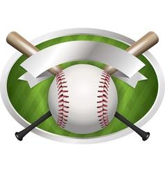baseball champions bat vector image vector image