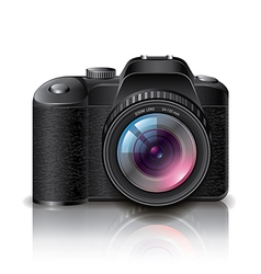 object photocamera vector image