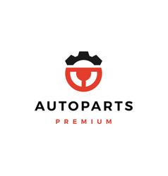 Automotive part service logo icon vector