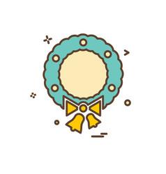 badge icon design vector image