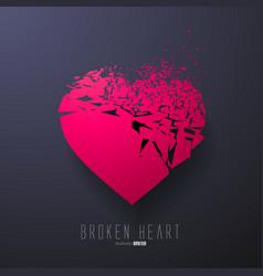 Broken Heart Graphics vector