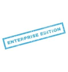 Enterprise Edition Rubber Stamp vector