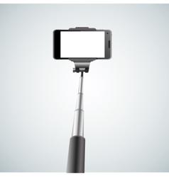 Monopod Selfie vector