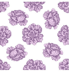 seamless pattern with hand drawn pastel decorative vector image
