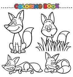 Fox vector image
