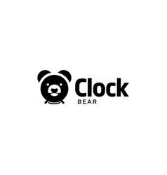 abstract alarm clock vector image
