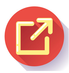 external link icon - user will know they are vector image