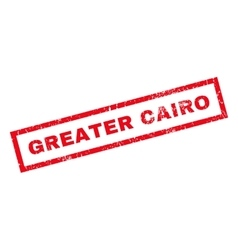 Greater Cairo Rubber Stamp vector