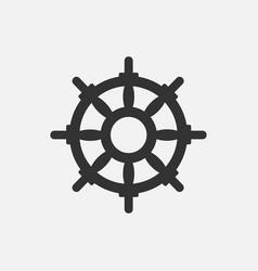 handwheel icon vector image